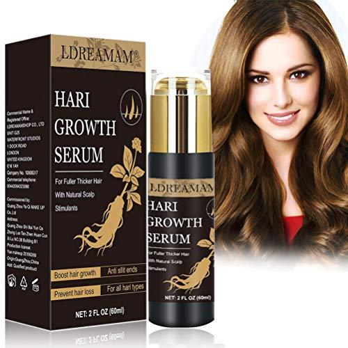 Haarwachstum Serum,Anti Haarausfall Serum,Haarausfall und Haar-Behandlung,Haar Serum,Verdickung und Nachwachen, für schnelles Haarwachstum …