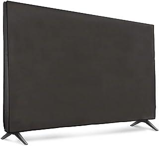 kwmobile 65' TV Hülle   Fernseher Bildschirmschutz Abdeckung   TV Bildschirm Staubschutzhülle   Dunkelgrau
