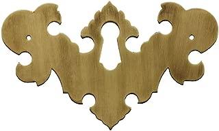 brass keyhole escutcheon
