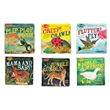 Constructive Playthings Indestructible Book Set, 100% Baby Proof Storybook Collection