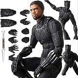 Black Panther Action Figures, Superhéroe Black Panther - Pantera Negra Para Siempre, Rey Para Siempr...