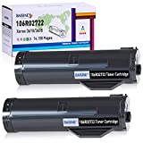BAISINE Compatible 106R02722 Black Toner Cartridge Replacement for Xerox 106R02722 Work with Xerox Phaser 3610 WorkCentre 3615 Printer - High Yield 14,100 Pages (Black, 2 Pack)