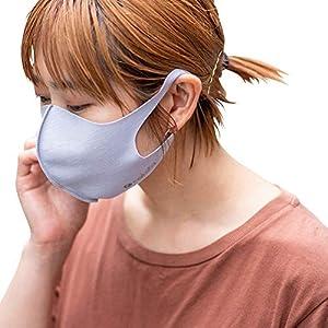nakota ナコタ 接触冷感マスク 3枚セット [グレー Mサイズ] ストレッチマスク 洗える 在庫あり UVケア 快適 涼しい 立体 抗菌性 速乾性 通気性 伸縮性 軽量 予防 立体 男女兼用 黒 白 グレー
