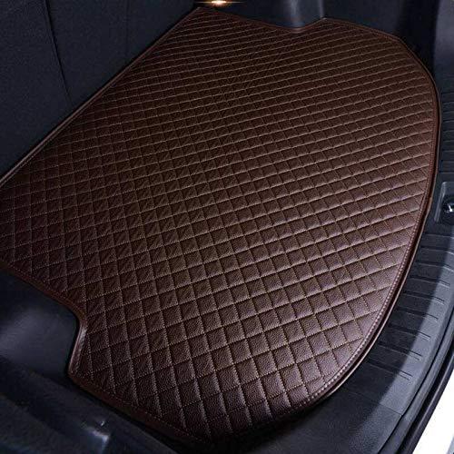 Custom Car Trunk Mats Leather Car trunk mat cargo carpet Fit For BMW X1 X3 X4 X5 X6 Z4 320i 330i 525i 530i 540i 730 740 750 760 Automotive Special Car Trunk Mats (Color Name : Wine red)
