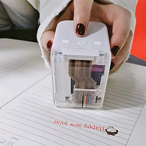 Impresora portátil portátil de mano extraíble impresora de color de mano WiFi inalámbrica Bluetooth impresora portátil a todo color