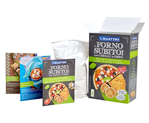 S.MARTINO - Miscela Integrale per Pizza, Focaccia e Tigelle - 420 g