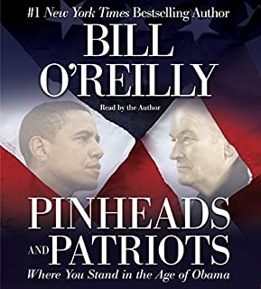Pinheads and Patriots audiobook cover art