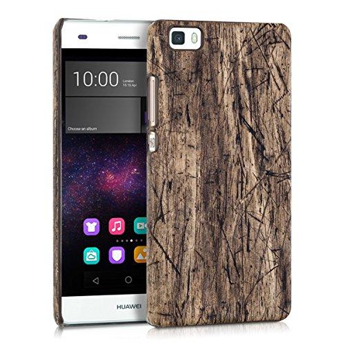 kwmobile Cover compatibile con Huawei P8 Lite (2015) - Custodia rigida in plastica dura - Hard Case Back Cover protettiva per smartphone