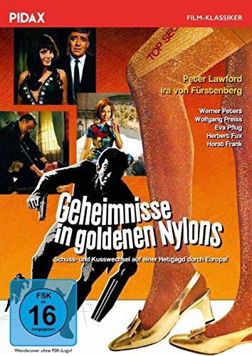 Geheimnisse in goldenen Nylons / Spannender Kriminalfilm mit Starbesetzung (Pidax Film-Klassiker)