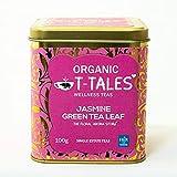 Organic T-Tales - Té verde ecológico en lata de 100g (Jazmín - THE FLORAL AROMA STORY)