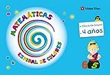 Espiral De Colores. Matemáticas. 4 Años (Espiral Magica Material Alumno) - 9788468213408