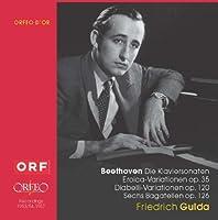 Beethoven: 32 Piano Sonatas / Eroica Variations / Diabelli Variations / Bagatelles by Friedrich Gulda (2010-10-26)
