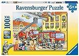 Ravensburger 10822- Puzzle 100 Pièces XXL Nos Pompiers Puzzle Enfant Néant