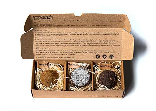 Pack 3 bombas de semillas aromáticas (3, 3 bombas de semillas)