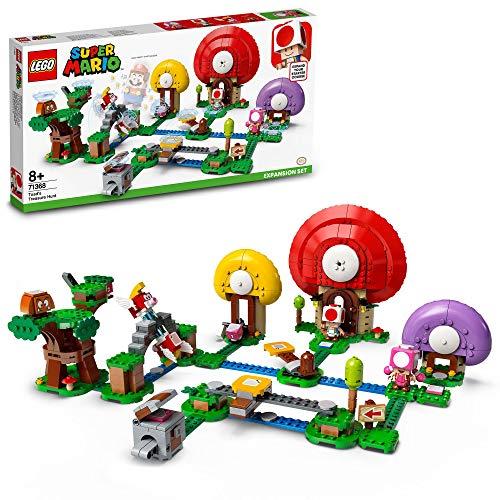 lego super mario twomp LEGO Super Mario La Caccia al Tesoro di Toad - Pack di Espansione