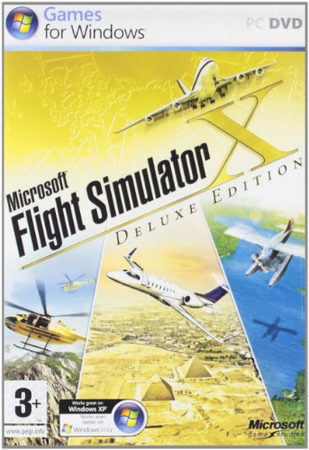 Microsoft Flight Simulator X: Deluxe Edition (PC) [Importación inglesa]