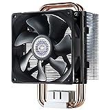 Cooler Master Hyper T2 Compact CPU Cooler Dual Looped, CDC Heatpipes, 92mm PWM Fan, Aluminum Fins for AMD Ryzen/Intel LGA1200/1151