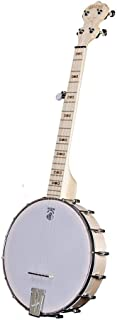 Deering Goodtime Parlor Small 5 Strings Banjo with Blonde Slender Rock Maple Neck