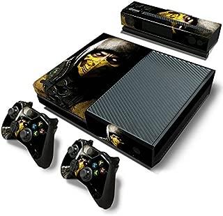 FriendlyTomato Xbox One Console and Controller Skin Set - Kombat Duel - PlayStation 4 Vinyl Mortal Fight