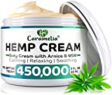 Hemp Cream for Pain Relief 450,000 - Verified Hemp Cream - Ultimate Hemp Power - Grown & Made in USA - Anti Inflammatory Formulation - Helps with Joint, Back, Knee, Arthritis Pain & Joint Support