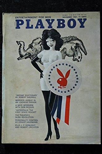 Playboy November 1968 Magazine