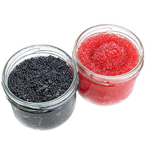Lumpfish Caviar - Salted Lumpsucker Roe (Black, 12 ounce (336 grams))