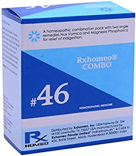 Rxhomeo Combo # 46 - Indigestion