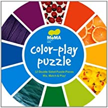 MoMA Color-Play Puzzle (Moma Modern Kids) (2012-06-27)