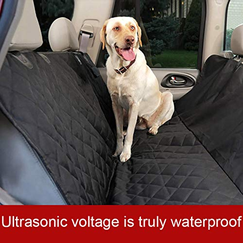 Funda para asiento de coche para perro, impermeable, antideslizante, con anclaje para asiento, funda de asiento de coche para mascotas de lujo, universal