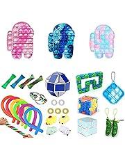 Fidget Toy Packs, juguetes sensoriales Fidget baratos, 30 Piezas Juguetes Sensoriales, Fidget Sensory Toys Alivia Estrés y la Ansiedad Toy, Autismo regalos para niños