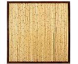 bambus-discount.com Bambuswand KohSamui Klassik 180x180cm, dunkler Rahmen mit Bambusrohr Füllung...