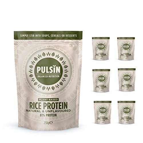 Brown Rice Protein Powder パルサン ブラウンライス プロテイン 250g X 6個 たんぱく質81% 玄米プロテイン ビーガン 無添加 無糖 砂糖不使用 植物性プロテイン 非常食 女性 子供 高タンパク 低カロリー 添加物無し グ