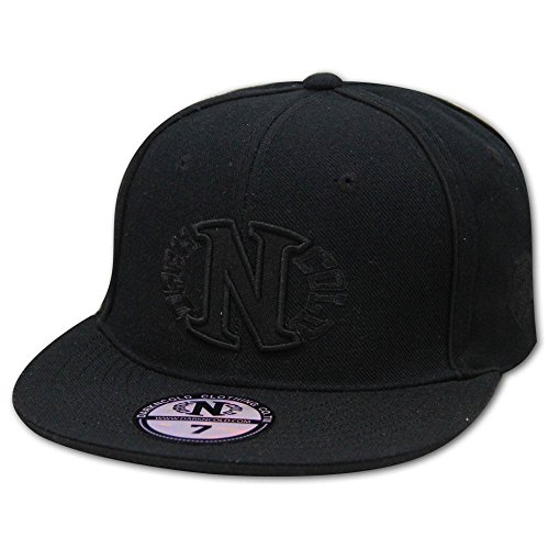 Dark N' Cold Egg Logo Fitted Baseball Cap Black