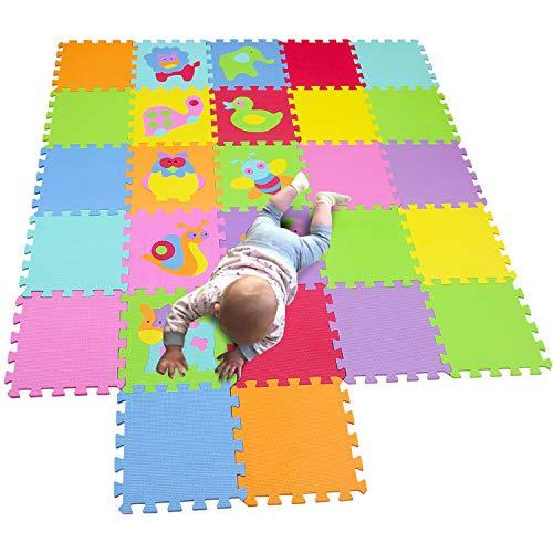 MQIAOHAM kinderen speelmat pleinen schuim speelmat tegels babymatten voor vloer kinderen zachte speelmatten meisje speelmat tapijt in elkaar grijpende schuim vloermatten voor P011CS18G300927