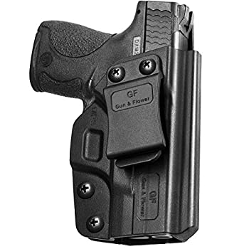 M&P Shield 9mm Holster IWB Polymer Concealed Carry M&P Shield Holster for M&P Shield .40 3.1   Smith and Wesson MP Shield 9mm Holster Adj.Cant&Retention   Fiber-Reinforced Polymer & Kydex Available
