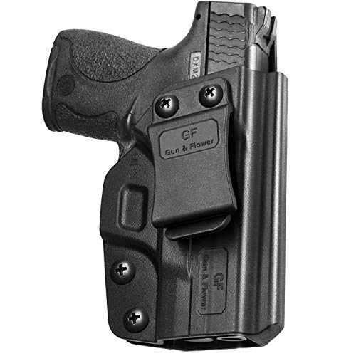 M&P Shield 9mm Holster, IWB Polymer Concealed Carry M&P Shield Holster for M&P Shield .40 3.1'' Smith and Wesson MP Shield 9mm Holster Adj.Cant&Retention   Fiber-Reinforced Polymer & Kydex Available
