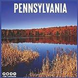 Pennsylvania 2021 Wall Calendar: Official Pennsylvania Travel Calendar 2021, 18 Months