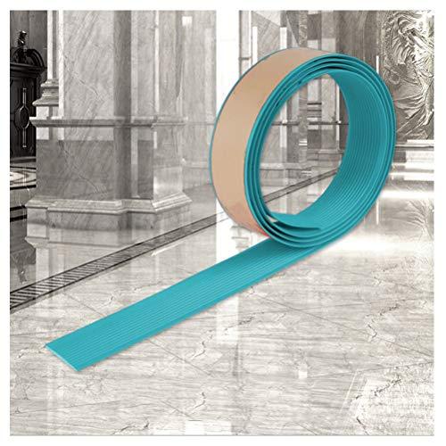 Cinta Antideslizante10M, Cinturón Antideslizante para Escaleras Autoadhesivo,Cinta Antideslizante para Pisos Lisos y Escaleras en Jardines de Infantes.(Azul) (Size : 45M)