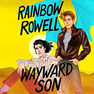 Wayward Son audiobook cover art