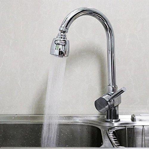 BDWS 360 burbujeador giratorio cabezal giratorio ahorro de agua aireador de grifo de cocina conector de grifo difusor de boquilla adaptador de filtro de red