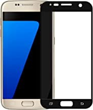 Gorilla Cases Perfect 3D Touch Technology Compatible Premium Sensitive Flexible 0.26mm Tempered Glass Screen Protector for Samsung Galaxy S7 (Black)