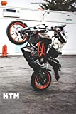 KTM: A Motivational Notebook Series for Car Fanatics: Blank journal makes a perfect gift for hardworking friend or family members (Colourful Cover, 110 Pages, Blank, 6 x 9) (Cars Notebooks)