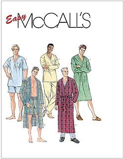McCall's Patterns M6231 Men's Sleepwear, Size Z (XLG-XXL-XXXL)