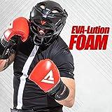 RDX  HGR-T1B-S Headgear Fighting Head Guard Sparring Helmet, black,S