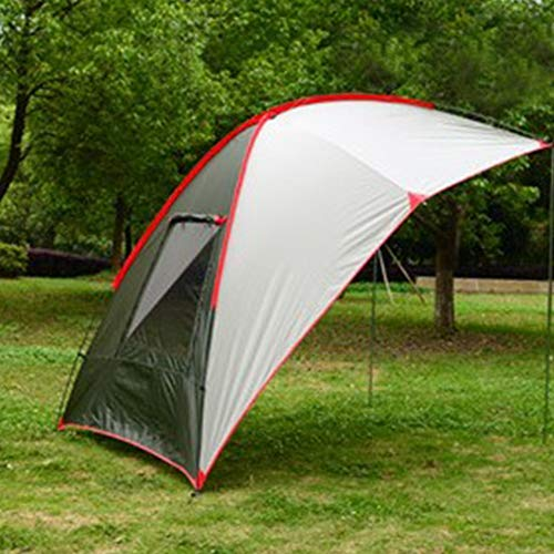 MAGT Canopy Tent, Outdoor Lightweight Car Tail Barbecue Tent Light Gauze Shelter Camping Skylight Canopy Awning Cover For Car Tail