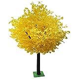 LOMJK Árboles Planta de simulación de árbol de Ginkgo Artificial, árbol de Deseos, Hoja de Seda de árbol Falso para Centro Comercial Parque decoración de Fondo para el hogar (tamaño : 39 * 24 Inches)