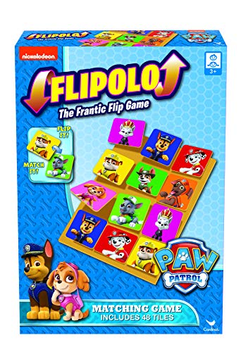 Spin Master Games 6044939 - Paw Partol Flipolo Match Memo-Spiel