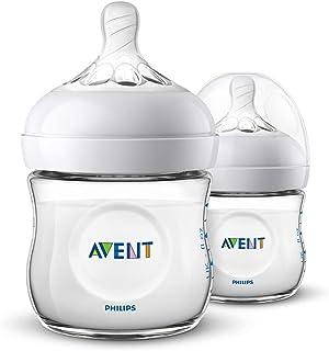 Philips Avent Natural Baby Bottles, 125ml, 2-Pack, SCF030/27
