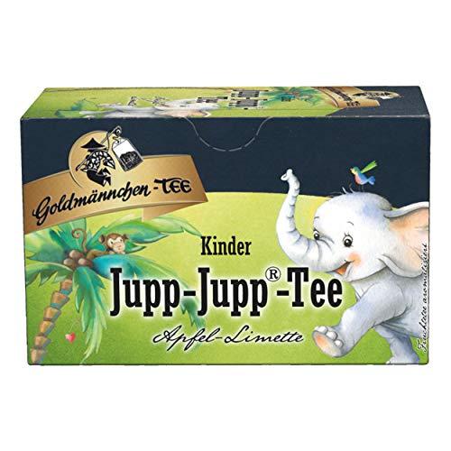Goldmännchen Kindertee Jupp-Jupp Tee, Früchtetee, 20 einzeln versiegelte Teebeutel