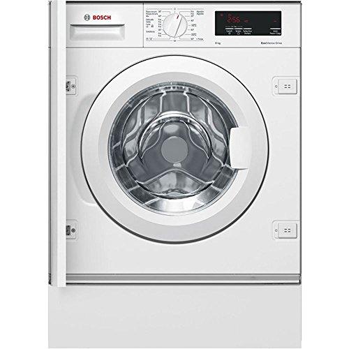 Lavadora integrable - Bosch WIW28300ES, 8kg, 1400rpm, A+++, Blanco